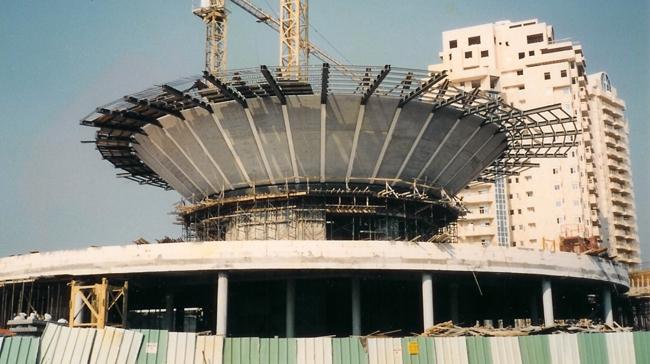מדהים פרויקט צמרות - הרצליה | תכנון מבנים | רמי בלס מהנדסים AG-55